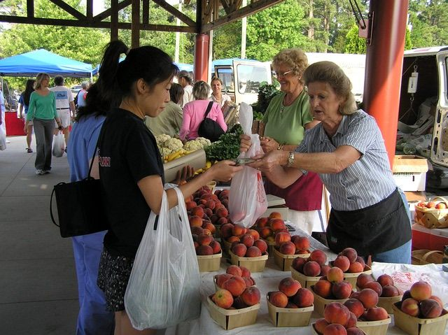Hours and locations of farmers markets in and around Raleigh, Durham and Chapel Hill.