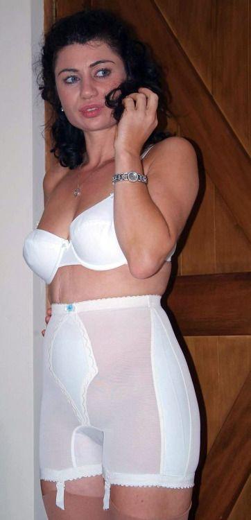 lingerie fetishes girdles women older