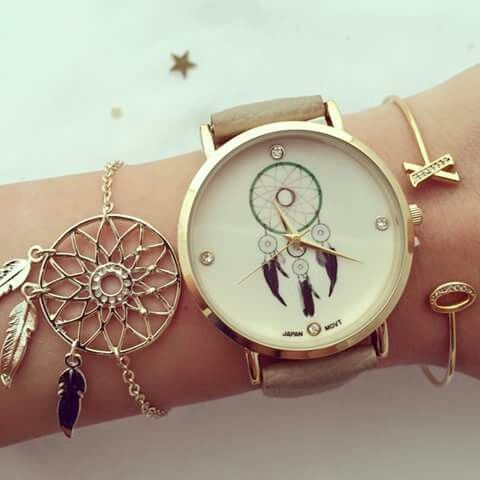 Trendy watch and jewelry from www.Luvvi9.com worldwide shipping from USA!