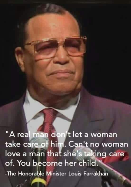 Louis Farrakhan Quote