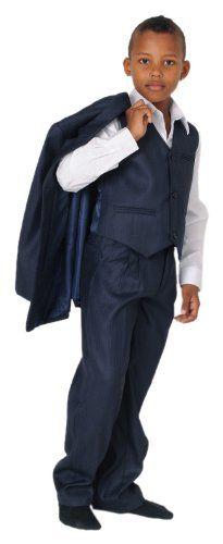 MGT-Shop Anzug Marvin, Jungen, dunkelblau, 140