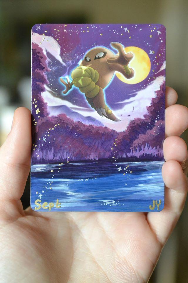 Ela transforma antigos cards de Pokémon em lindas pinturas - A americana Micah Jett Yates transforma antigos cards de Pokémon em lindas pinturas. Confira sua arte!
