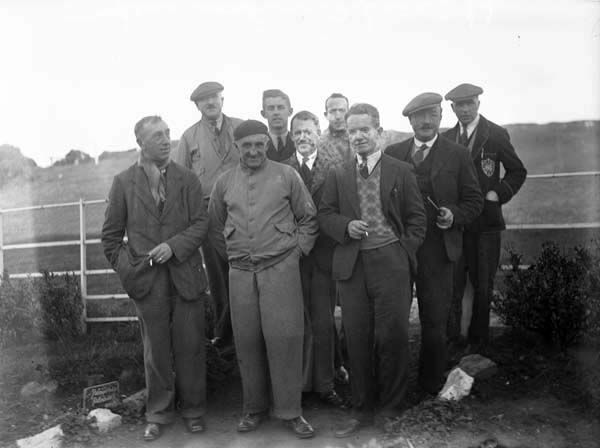 Irish Independent - Golf Special: Howth Golf Club - Group of men by Independent Newspapers (Firm) Published / Created: 1936 In collection: The Independent Newspapers (Ireland) Collection