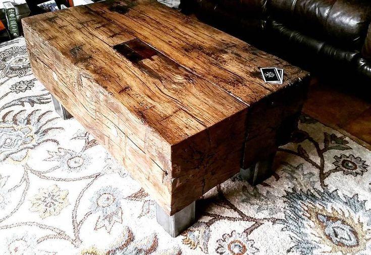 Reclaimed Barn Beam Coffee Table