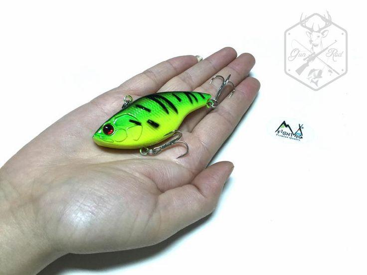 1PC MIZUGIWA Fishing Lure VIB 14g 75mm Vibration Crankbait Hard Bait Lure Walleye Crappie Fishing Tackle 6 Color Rattle Hooks #shoes, #jewelry, #women, #men, #hats