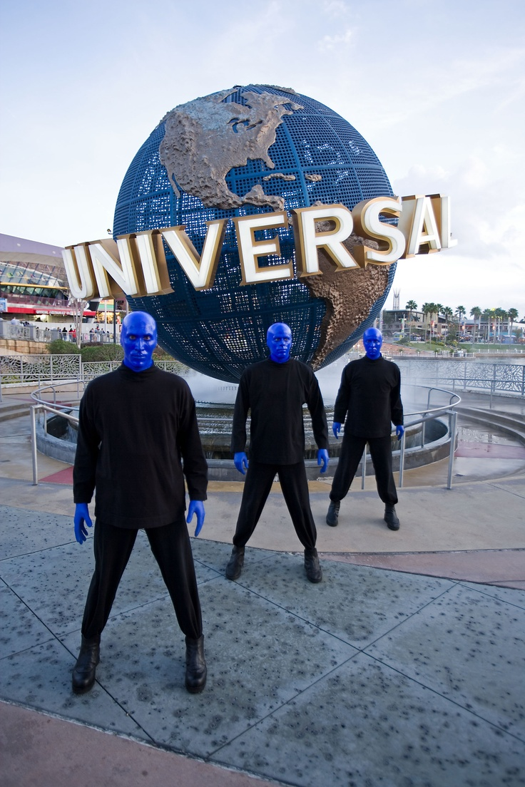 See the Blue Man Group at Universal Orlando in Florida