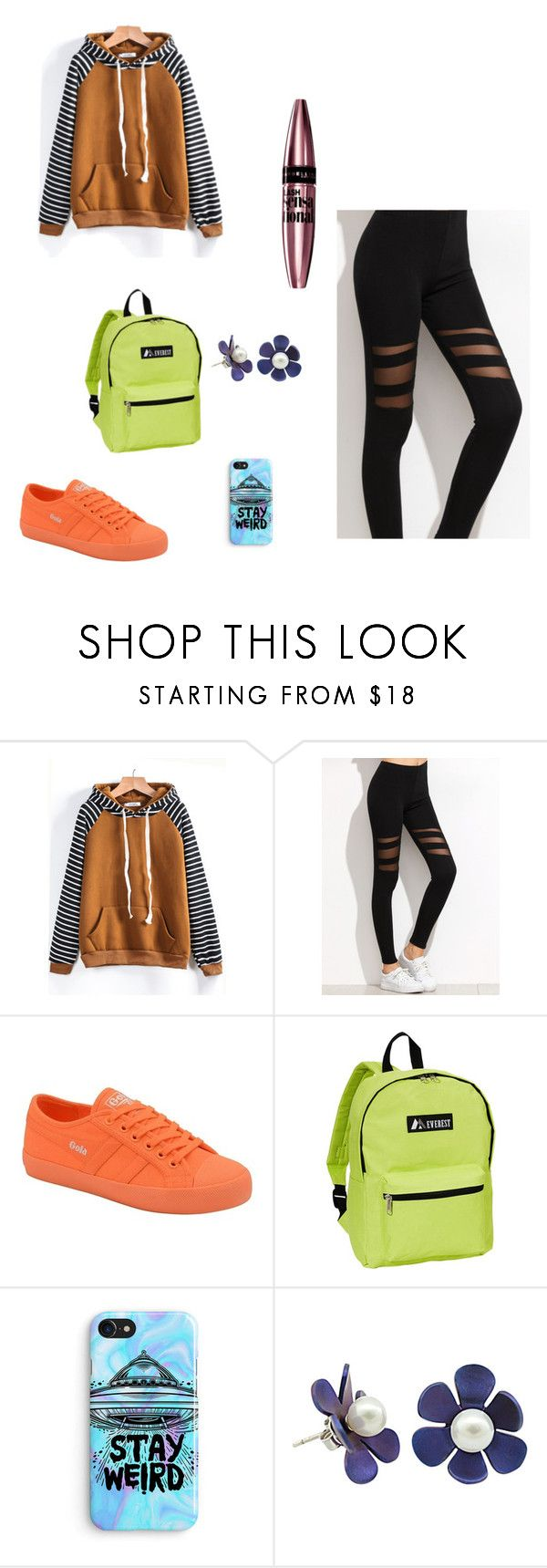 """""""moda4"""" by denisa13alexandra on Polyvore featuring Gola, Everest, Samsung and Maybelline"""