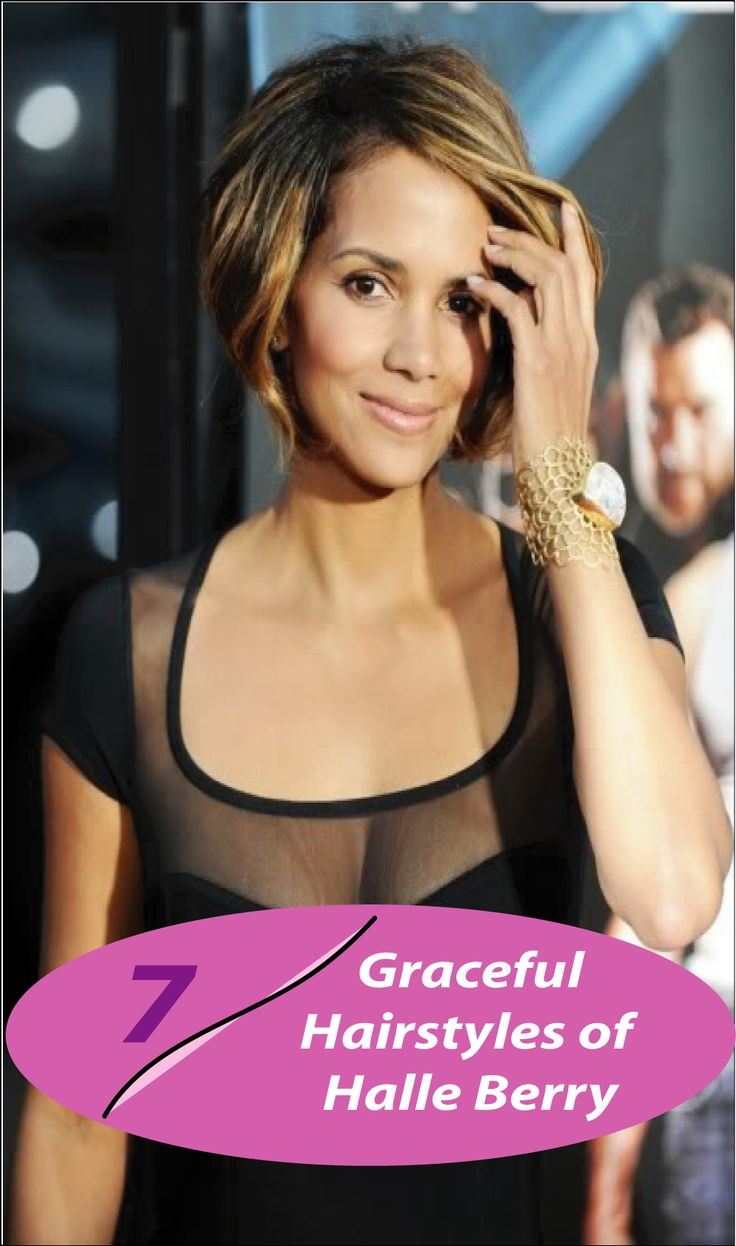 Here is 7 graceful hairstyles of Halle Berry you can try now! So keep on reading this cool article containing graceful Halle Berry hairstyles.
