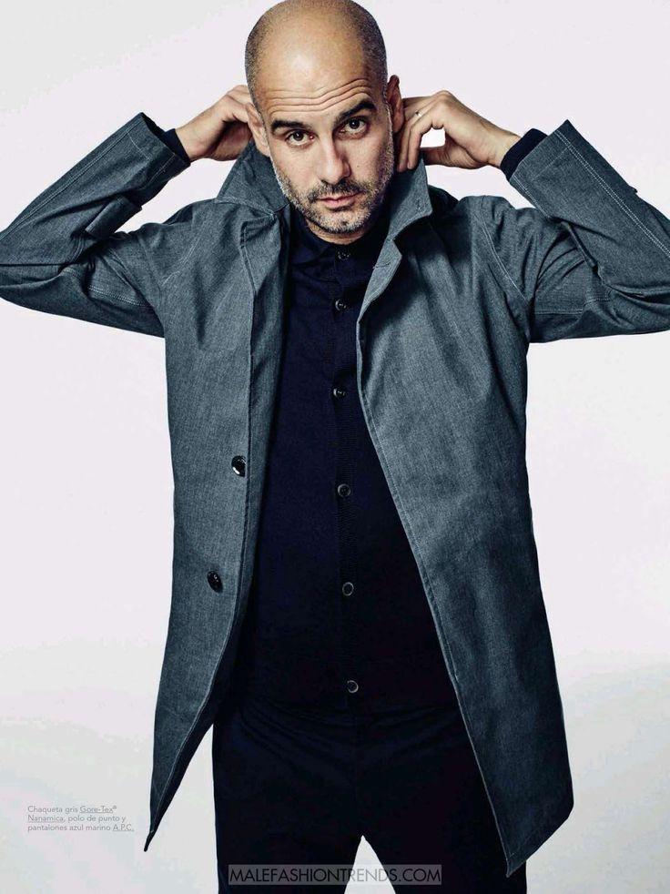 Male Fashion Trends: Pep Guardiola por Sergi Pons para GQ España