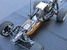 Hpi Baja 5B 2.0 1/5 Scale Gas Powered Rc Car Buggy T  RTR 2.4ghz