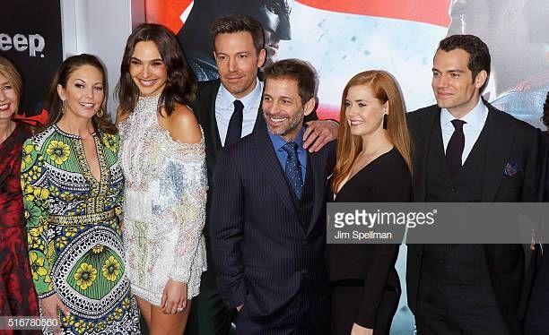 Actors Diane Lane Gal Gadot Ben Affleck Director Zack Snyder Gal Gadot Batman V Superman Dawn Of Justice Diane Lane