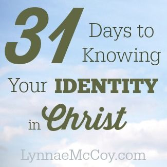 Do you ever feel bad about yourself? Lonely? Insignificant? Less than? When my daughter is having a bad day, I often tell her that I wish she could see herself through God's eyes. I wish we could all see ourselves through God's eyes! So why don't we explore just  that? Knowing your identity in Christ …