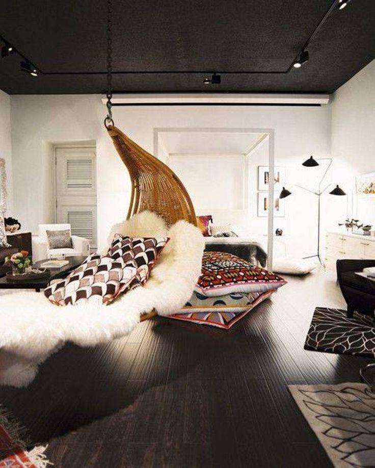 1000 ideas about bedroom hammock on pinterest hammocks - Hanging hammock chair for bedroom ...