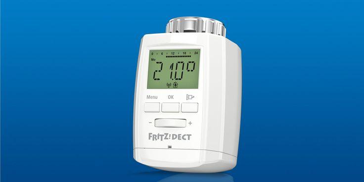 Mit dem smarten Heizkörperthermostat AVM FRITZ!DECT 300 können Besitzer einer Fritz!Box ihre Heizung intelligenter steuern und Heizkosten sparen. Laut AVM