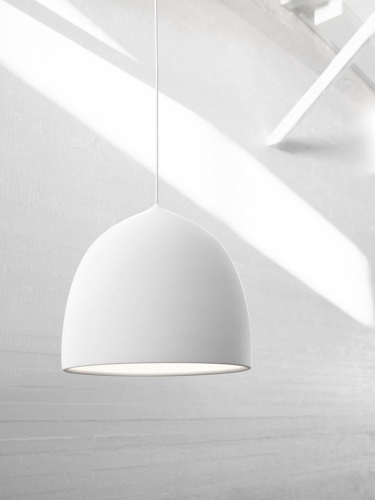 GamFratesi's inspiration for the Suspence™ lamp series has been translating a movement into a physical shape. The shape of the lamp has been created by pulling – an elementary movement involving physical force. Suspence™ is organic with a natural soft curve. An infinity diffuser at the bottom of the lamp concentrates the light, prevents glare and contributes to creating an elegant optical illusion - hence the name infinity diffuser.