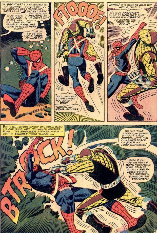 Spider-Man vs. The Shocker