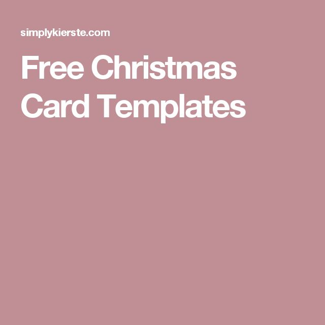 The 25 best free christmas card templates ideas on pinterest free christmas card templates pronofoot35fo Images