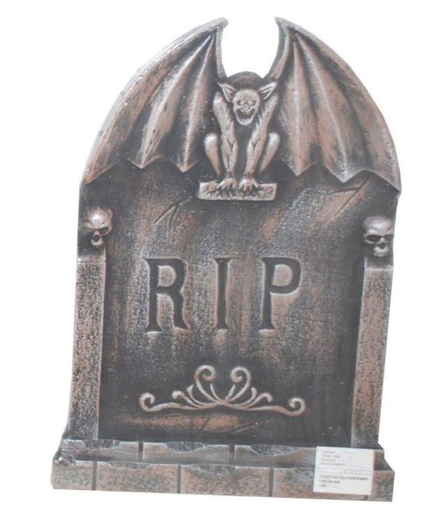 gargoyle tombstone halloween express