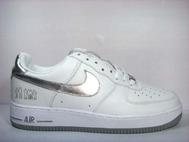 buy popular cc388 12b9f Nike Air Force One Low Players Edition (white  silver)  SHOES  Nike air  force ones, Air force ones, Force one