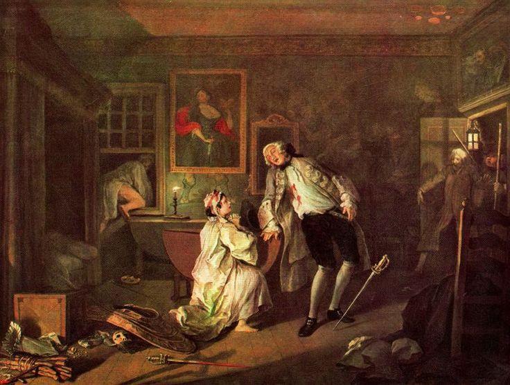 """""""Marriage a La Mode: The Bagnio"""", pintura de William Hogarth        É costume chamar de """"doutor"""" o profissional que exerce a medicina, o h..."""