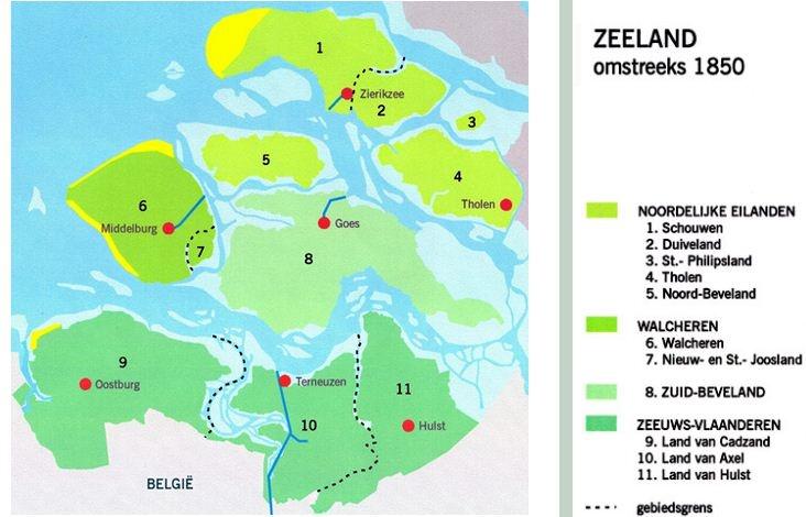Zeeland 1850