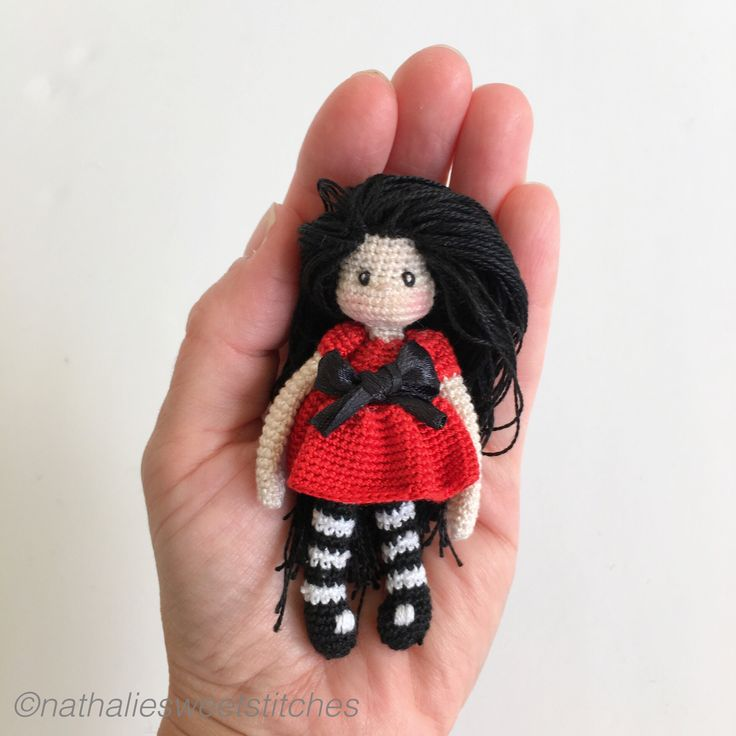 Crochet Mini Doll Pattern : 158 best images about miniature crochet on Pinterest ...