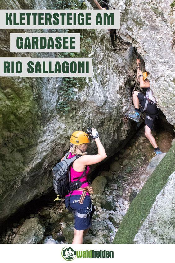 Auch für Anfänger geeignet: Der Rio Sallagoni Klettersteig am Gardasee.