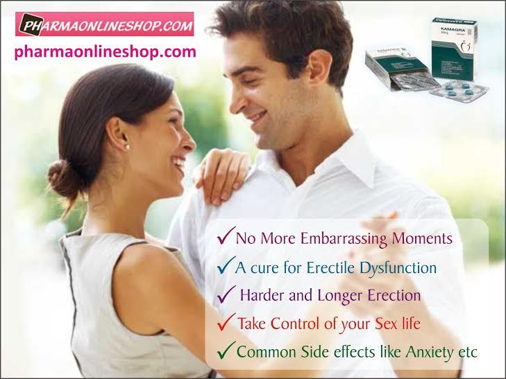 Kamagra tablets provide faster and easy solution for erectile dysfunction.