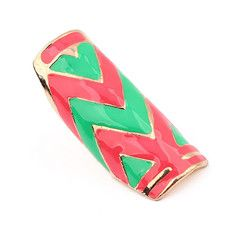 Whimsical Zigzag Ring (Green), S$ 7.00 from fourtwelve.com.sg