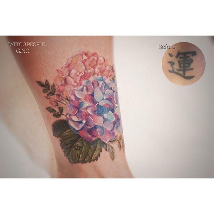 Best 25 Letter Tattoos Ideas On Pinterest: Best 25+ Hydrangea Tattoo Ideas On Pinterest