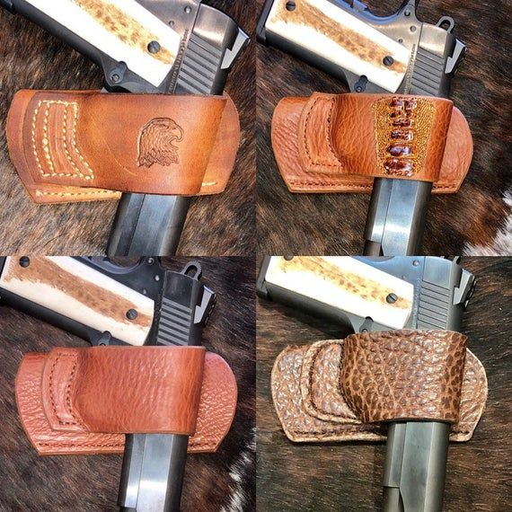 Yaqui Belt Slide 1911 45 10mm Holster Rh In 2020 With Images