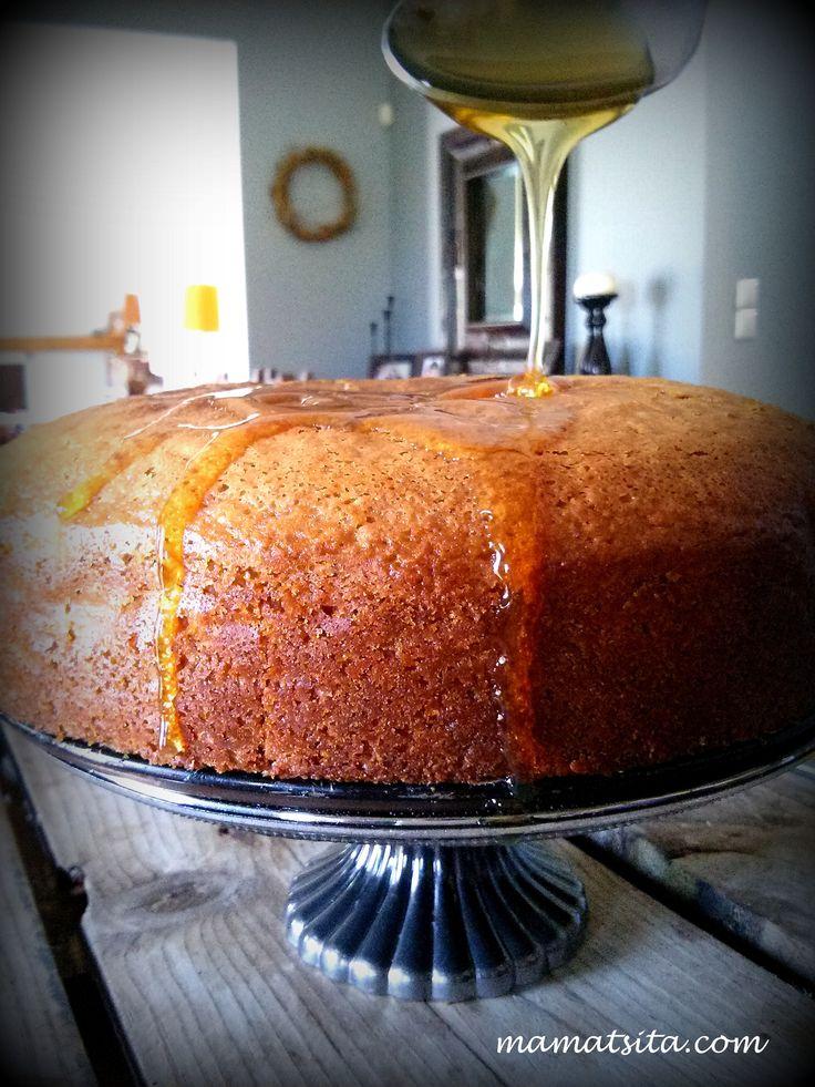 Fanouropita,  the Greek cake #homemade #recipes #greekfood #mamatsita