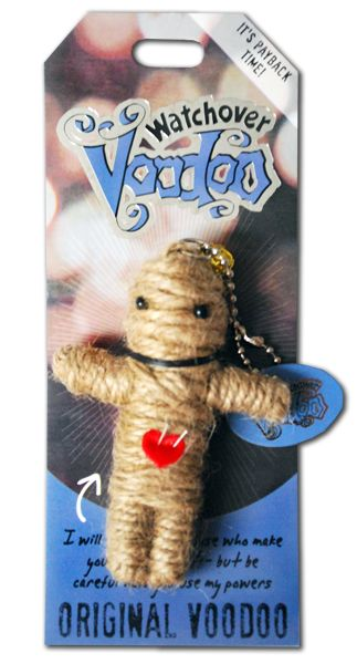 "Watchover Voodoo Dolls - Original Voodoo ""I will barely bug those who make your life difficult.. but be careful how you use my powers"""