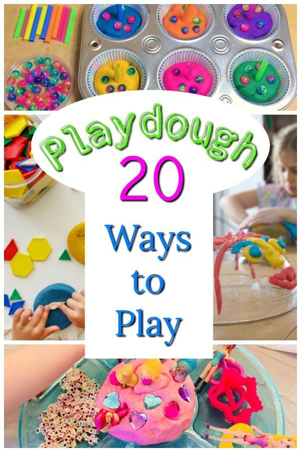 Playful Playdough Activities Diy Kids Playdough Activities