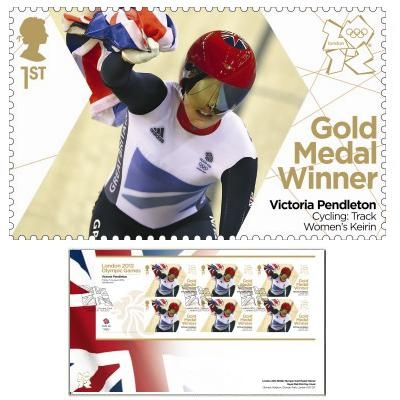 Large image of the Team GB Gold Medal Winner First Day Cover - Victoria Pendleton
