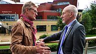 BBC Two - TOWN with Nicholas Crane, Series 2, Huddersfield, Sir Patrick Stewart and Huddersfield