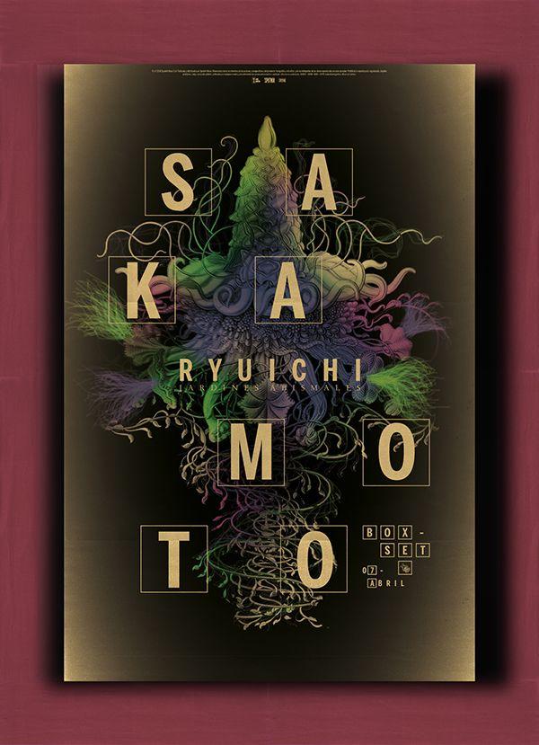 Ryuichi Sakamoto - Jardines Abismales - CD de lujo 设计圈 展示 设计时代网-Powered by thinkdo3