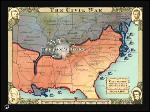 The Civil War in Four Minutes! Amazing. Probably the best thing I've seen in a long time. :)
