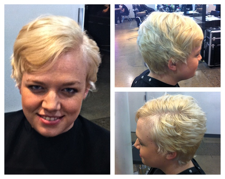 Great Hair Color: Syncrolift And Utp Toner And Violet Color Shot Haircut: 90  Degree And