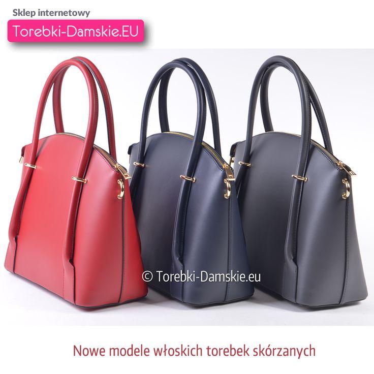 Nowy model w najmodniejszych kolorach. Kolejne nowości w katalogu torebek skórzanych http://torebki-damskie.eu/skorzane