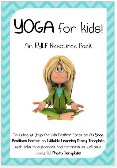 Want a Discount...Like this resource using the social media icons & a discount will automatically be applied to your purchase at checkout. Share This pack contains 24 beautifully designed, easy to use yoga position cards for kids. It also contains an A3 poster with all 24 positions as well as a learning story template with …