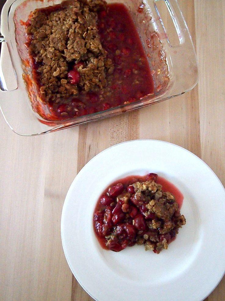 Sour Cherry Crisp Recipe