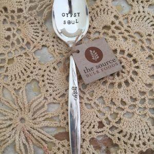 "Buy Stamped Silver Vintage Spoon – ""Gypsy Soul"" in Bulk Australia | The Source Bulk Foods"