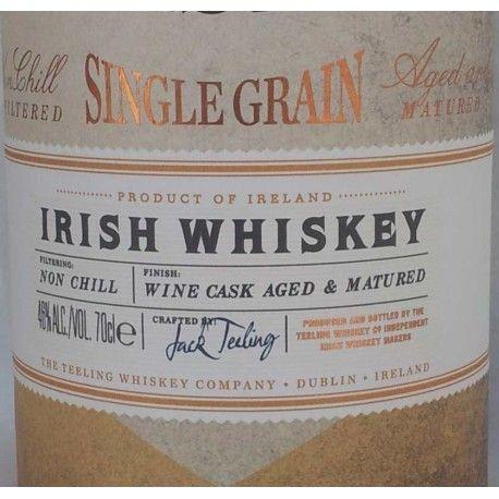 Questo Single Grain whiskey no aged, rifinito in cask di vino cabernet californiano stupisce per la semplice complessità armoniosa di frutta, spezie e legno. Ha vinto il premio nel 2014 come miglior whiskey di grano al mondo ai World Whiskies Awards.  Consigliato caldamente sia ai taster di lungo corso e sia a chi desidera un whiskey morbido e facile da apprezzare.