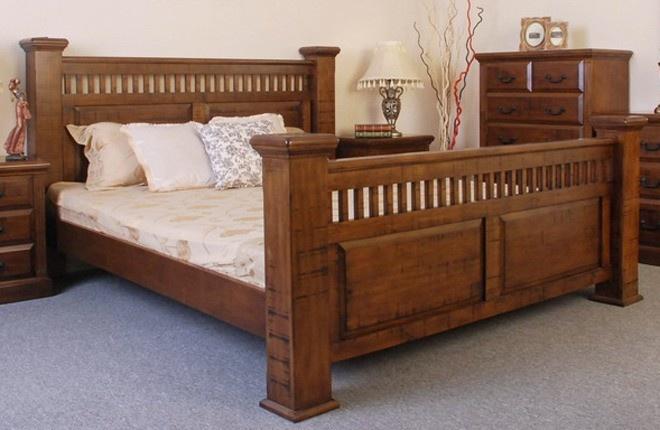 furnishcomau emmett bed in rustic oak 89900 httpwwwfurnishcomaubed framestimber bed framesemmett bed in rustic oak manchester