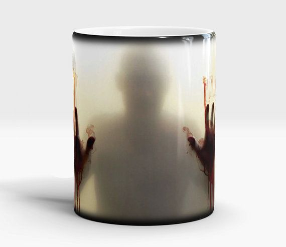 Walking Dead Color Changing coffee mug Walking Dead by VikitoGifts