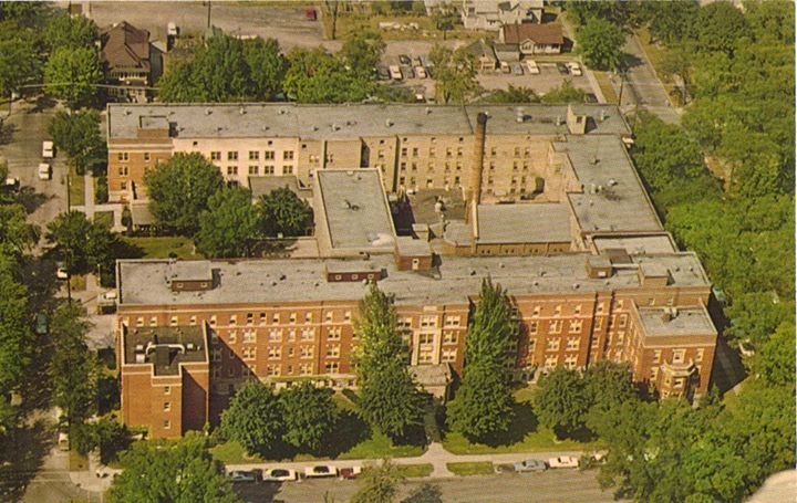 St Nicholas Hospital.