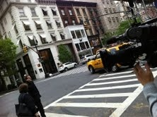 Filming on Location in New York