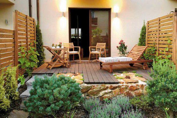 Projekty ogrodów. Mały ogród jak nastrojowy obraz