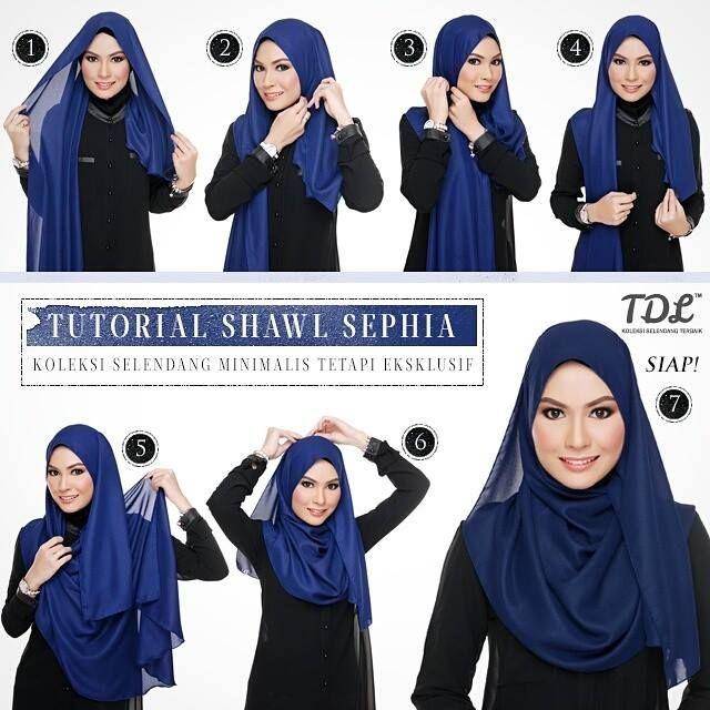 Sephia Shawl tutorial